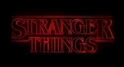 Stranger Things title slide